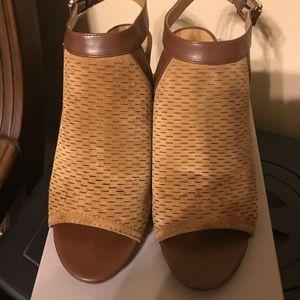 Franco Sarto wedge sandals like new
